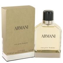 Giorgio Armani ARMANI EAU POUR HOMME Mens 3.4 o... - $79.19