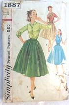 Simplicity 1887, Misses Blouse, Skirt, Cummerbu... - $4.95
