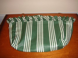 Longaberger Medium Key Or Candle Liner Hunter Green Stripe - $14.49