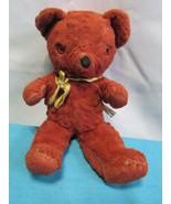 """Antique Vintage Cubbi Gund Teddy Bear 13"""" Tall Hand Stitched ? - $48.58"""