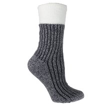 Double Layer Shea Butter Infused Corduroy Slipper Socks - ₨974.49 INR+
