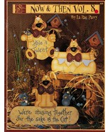 Tole Decorative Painting Now & Then V8 Cat Bunny Welcome Moose La Rae Pa... - $12.99