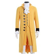 1791's lady 18th Century Men's Victorian Fancy Outfit Regency Tailcoat V... - $113.45