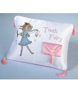 Tooth Fairy Pillow First Birthday Pouch Gift Baby Shower Cute Child Girl - $16.12