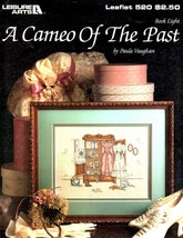 """A Cameo of the Past"" Counted Cross Stitch Color Pattern By Leisure Arts... - $2.00"