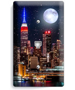 NYC MANHATTAN NIGHT SKYLINE STARS MOON PHONE TE... - $8.79