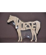 Horse Wood Tack Room Toy Puzzle Amish Made Nice... - $11.99