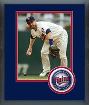 Brian Dozier 2016 Minnesota Twins - 11 x 14 Team Logo Matted/Framed Photo - $42.95