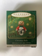 2001 Hallmark Keepsake Miniatures Ornament Christmas Bells - $9.49
