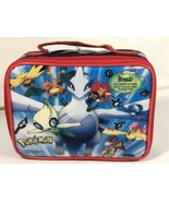 Pokemon Thermos Lunch Box Bag Charizard Pikachu - $59.39