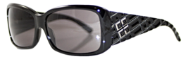 Authentic Givenchy Womens Sunglasses Black Rectangle SGV 653  - $120.00