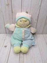 D Eden Vintage Plush Doll Baby Lovey Pastel Blue Green Yellow Pink Strip... - $54.44