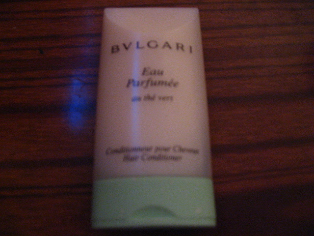 Primary image for Brand New BVLGARI Green Tea Hair Conditioner