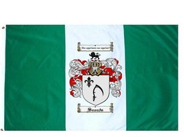 Sneeds Coat of Arms Flag / Family Crest Flag - $29.99