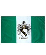 Woodland Coat of Arms Flag / Family Crest Flag - $29.99