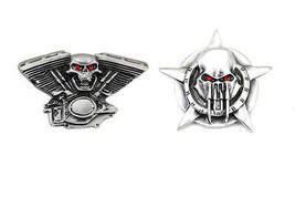 Skull Lapel Pin Set  48-1518 - $18.90