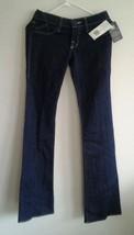 New!! Rock & Republic womens size 25 Solo Blue rhine stoned pocket jeans - $39.10