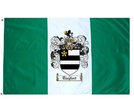 Twyfort Coat of Arms Flag / Family Crest Flag - $29.99