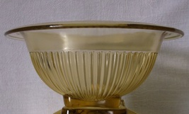 Federal Glass Golden Glow Bowl SMALL Vintage Yellow Mixing Nesting Bowl ... - $24.98