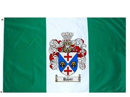 Royer Coat of Arms Flag / Family Crest Flag - $29.99