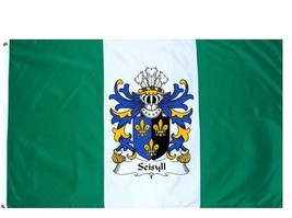 Seisyll Coat of Arms Flag / Family Crest Flag - $29.99