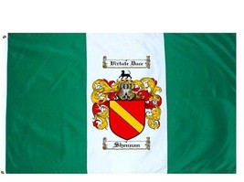 Shennan Coat of Arms Flag / Family Crest Flag - $29.99