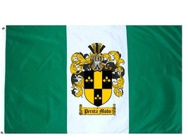 Simmons Coat of Arms Flag / Family Crest Flag - $29.99