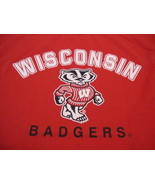 NCAA Wisconsin Badgers College University Sports Polyester Sleeveless T ... - $19.65