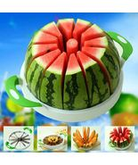 Watermelon Cutter Stainless Steel Fruit Corer Slicer 28CM Large - $28.95