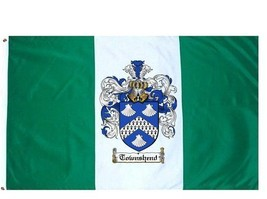Townshend Coat of Arms Flag / Family Crest Flag - $29.99