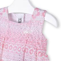 Mayoral Baby Girls 3M-24M Orchid Pink Colorblock Tiers Social Dress image 3