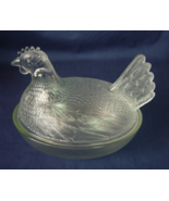 Indiana Glass - Hen On A Nest - Covered Dish Ca... - $8.00