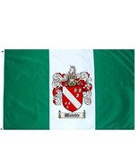 Womble Coat of Arms Flag / Family Crest Flag - $29.99
