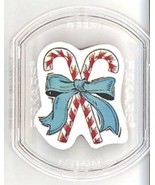 Candy Canes - Fiskars Stackable Rubber Stamp NEW - $0.90
