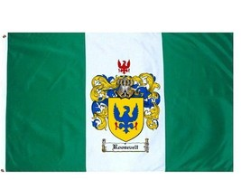 Roosevelt Coat of Arms Flag / Family Crest Flag - $29.99
