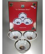 Portmeirion A Christmas Story Triple Dip Dish NEW IN BOX Susan Winget De... - $19.59