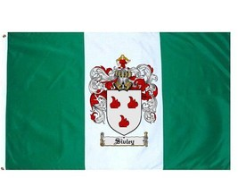Sivley Coat of Arms Flag / Family Crest Flag - $29.99