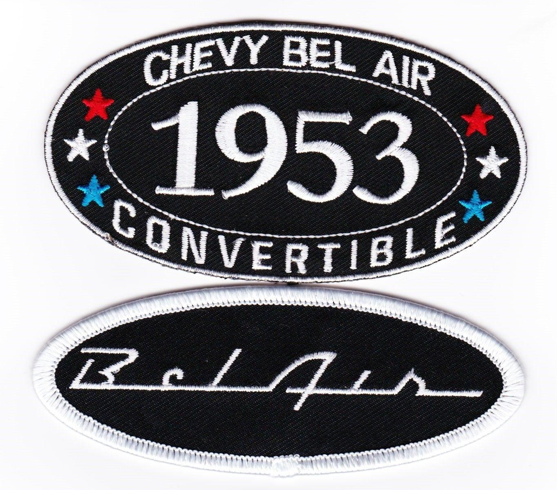 CHEVY SS 350 SEW//IRON PATCH EMBLEM BADGE EMBROIDERED CHEVELLE CAMARO NOVA CAR
