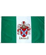 Wellington Coat of Arms Flag / Family Crest Flag - $29.99