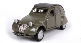 Bburago 1:32 1952 Citroen 2CV Diecast Model Sports Racing Car Toy NEW IN... - $21.48