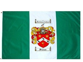 Simms Coat of Arms Flag / Family Crest Flag - $29.99
