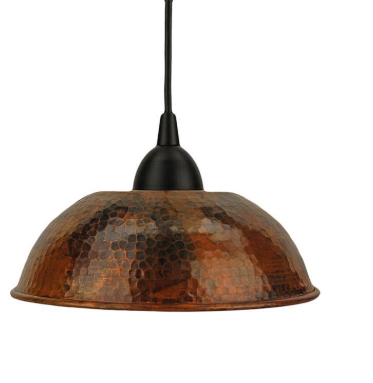 Lighting for Kitchen Dining Room Kit Bar Island Hand Hammered Copper