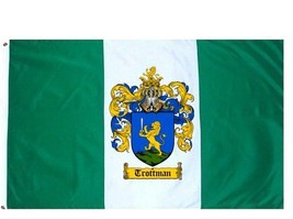 Trottman Coat of Arms Flag / Family Crest Flag - $29.99