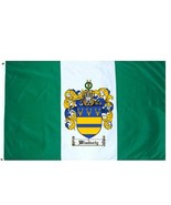 Wimberly Coat of Arms Flag / Family Crest Flag - $29.99