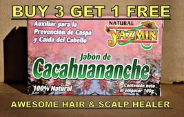 CACAHUANANCHE HAIR GROWER HEALER SHAMPOO SOAP B... - $4.42