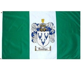 Tamblyn Coat of Arms Flag / Family Crest Flag - $29.99