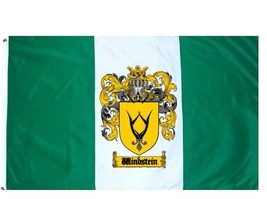 Windstein Coat of Arms Flag / Family Crest Flag - $29.99