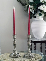 """PAIR OF ONEIDA WEIGHTED & POLISHED """"SILVER PLAT... - $28.80"""
