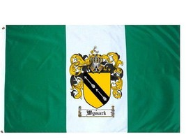 Wymark Coat of Arms Flag / Family Crest Flag - $29.99
