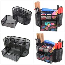Space Saving Desk Organizer with Drawer for Storage Office School Supply... - $14.14